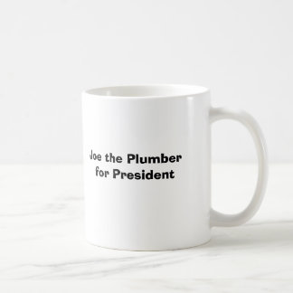 Joe der Klempner für Präsidenten Kaffeetasse