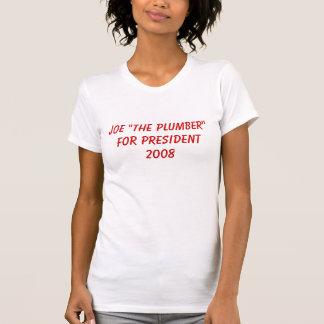 """Joe """"der Klempner """" für President2008 T-Shirt"""