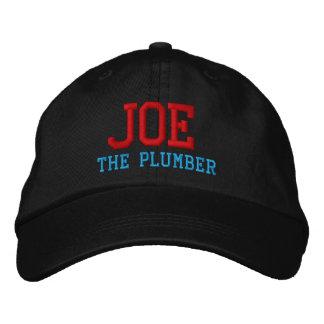 Joe der Klempner gestickte Hut