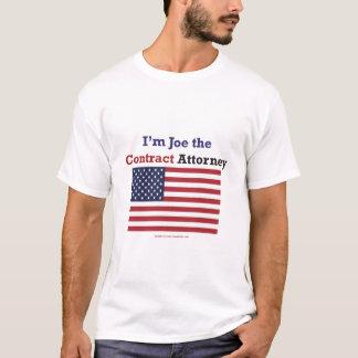 Joe der Vertrags-Rechtsanwalt T-Shirt