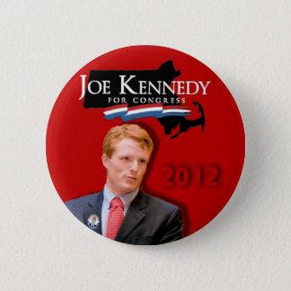 Joe Kennedy für Kongress-Rot Runder Button 5,1 Cm