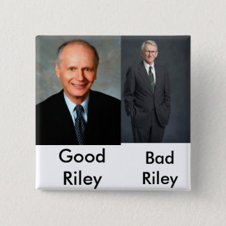 Joe Riley, Übel! - Besonders angefertigt - Cu… - Quadratischer Button 5,1 Cm