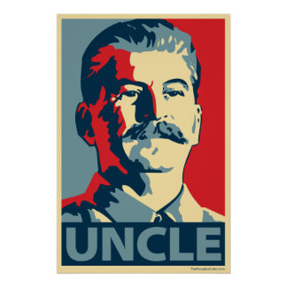 Joe Stalin - Onkel: OHP Plakat