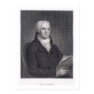 Joel Barlow (1754-1812), graviert durch Asher Postkarte