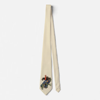 Joes voller Service-Tankstelle, Vintages Geschäft Krawatte