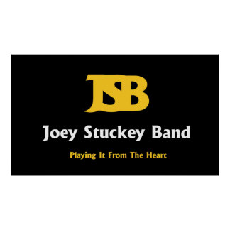 Joey Stuckey Band-Plakat Poster