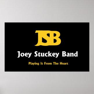 Joey Stuckey Band-Plakat Poster