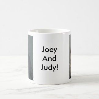 Joey und Judy Kaffeetasse