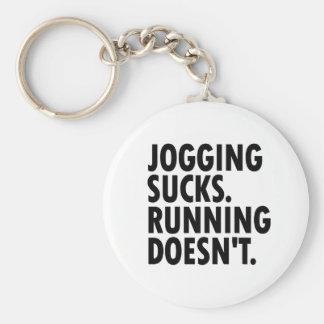 Joggen ist zum Kotzen. Das Laufen tut nicht. Schlüsselanhänger