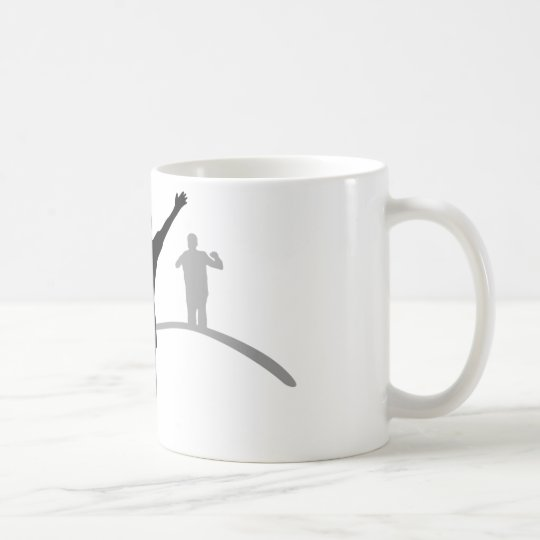 Jogger Sport Joggen Kaffeetasse
