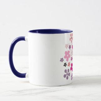 Jogurt-Blumen Tasse