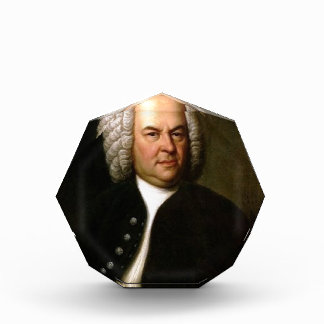 Johann Sebastian Bach Acryl Auszeichnung