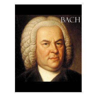 Johann Sebastian Bach-Einzelteile Postkarte