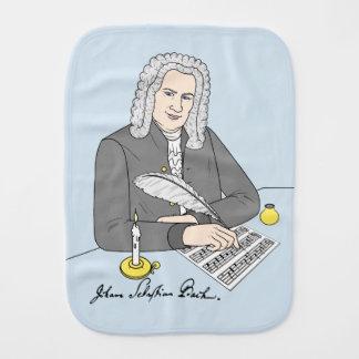 Johann Sebastian Bach gezeichnet Baby Spucktuch