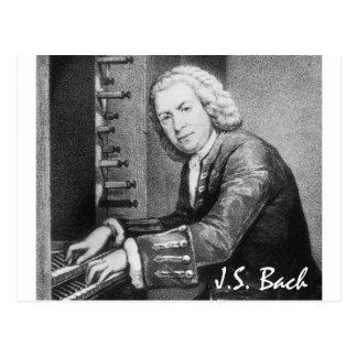 Johann Sebastian Bach-Material Postkarte