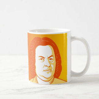 Johann Sebastian Bach Portraits Kaffeetasse