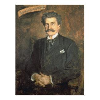 Johann Strauss, das jüngeres, 1895 Postkarte