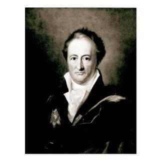Johann Wolfgang Goethe Postkarte
