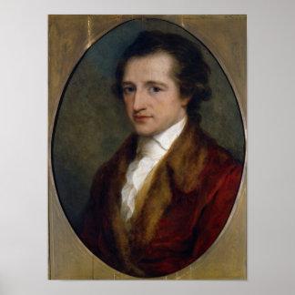 Johann Wolfgang von Goethe, 1775 Poster