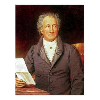 Johann Wolfgang von Goethe 1828 Postkarte