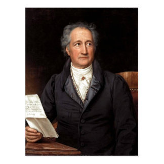 Johann Wolfgang von Goethe im 70. Lebensjahr, Gema Postkarte