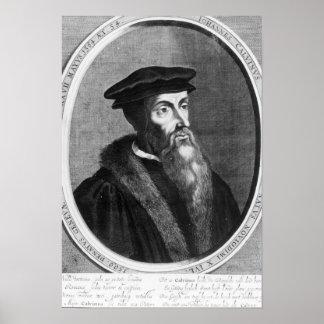 Johannes Calvin Poster