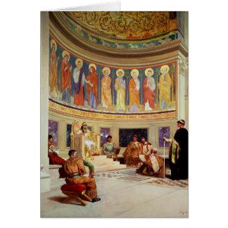 Johannes Chrysostom verbannt von der Kaiserin Karte
