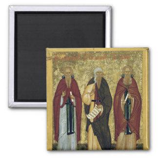 Johannes Climacus Johannes von Damaskus Kühlschrankmagnete