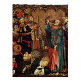 Johannes das Evangelist-Trinken Postkarte
