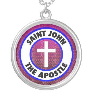 Johannes der Apostel Versilberte Kette