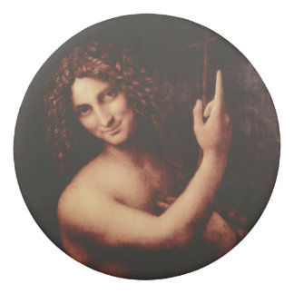 Johannes der Baptist durch Leonardo da Vinci Radiergummis 0