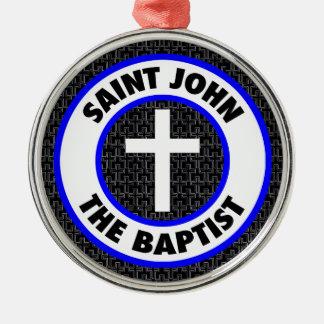 Johannes der Baptist Silbernes Ornament