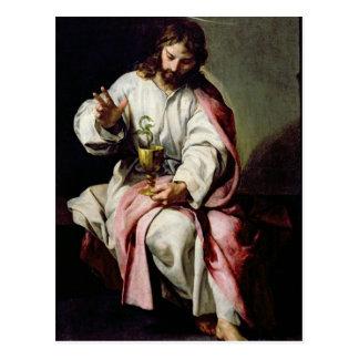 Johannes der Evangelist und die vergiftete Schale Postkarte