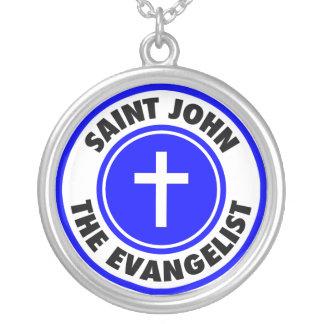 Johannes der Evangelist Versilberte Kette