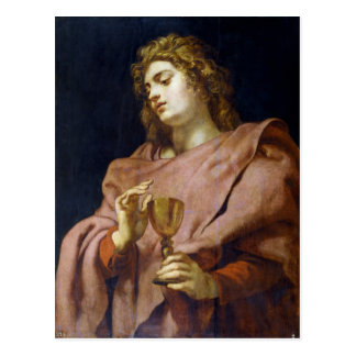 Johannes-Evangelist Peter Paul Rubens Postkarte