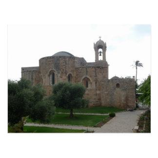 Johannes Kirche der Libanon Postkarte
