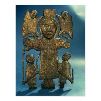 Johannes Kreuzigungs-Plakette, spätes 7. Postkarte