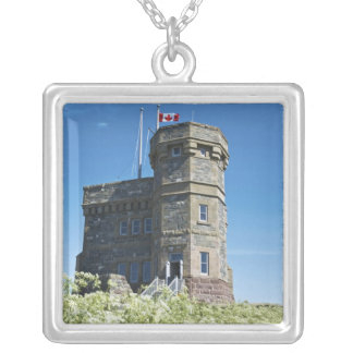 Johannes, Neufundlands, Kanada, Cabot Turm, Versilberte Kette