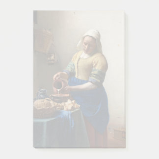 JOHANNES VERMEER - Der Milkmaid 1658 Post-it Klebezettel