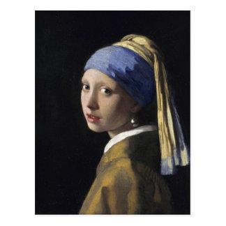 Johannes Vermeer - Mädchen mit einem Postkarte