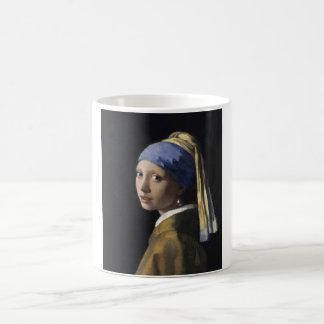 Johannes Vermeer - Mädchen mit einem Verwandlungstasse