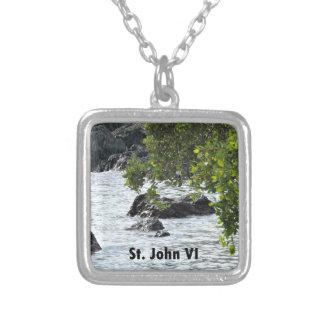 Johannes VI Versilberte Kette