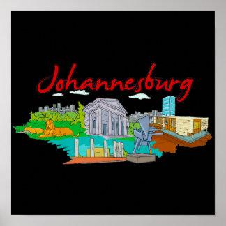Johannesburg - Südafrika .png Poster