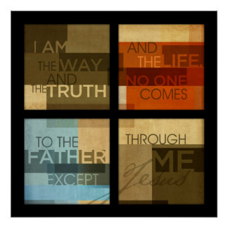 John-14:6 Poster
