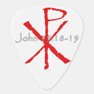 John-15:18 - 19 plektron