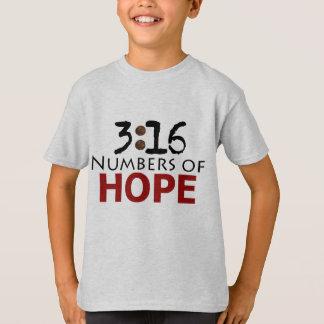 John-3:16, Anzahlen der christlichen Nachricht der T-Shirt
