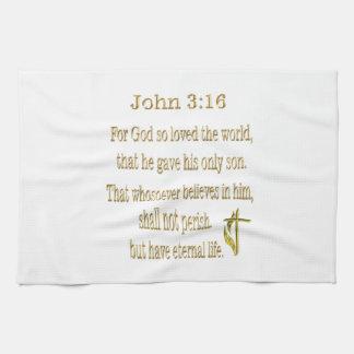 John-3:16 Geschenke Küchentuch