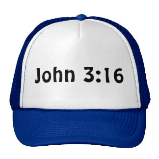John 3 16 trucker kappe