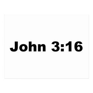John-3:16 Postkarte