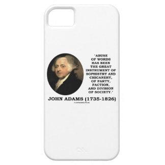 John Adams-Missbrauch der Etui Fürs iPhone 5